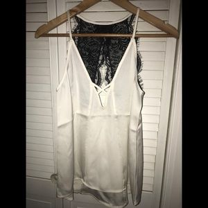 NWT Express Lace Back Tank Top